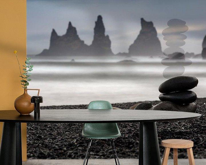 Beispiel fototapete: Schwarzer Strand bei VIK von Andreas Müller