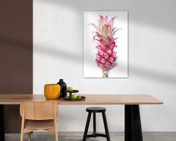 Roze Ananas  van Mandy Jonen