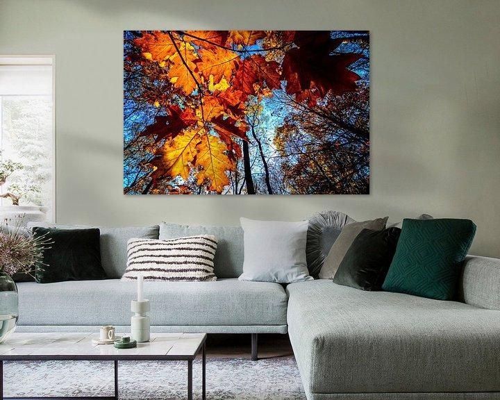 Sfeerimpressie: Autumn leaves van Peter Vruggink