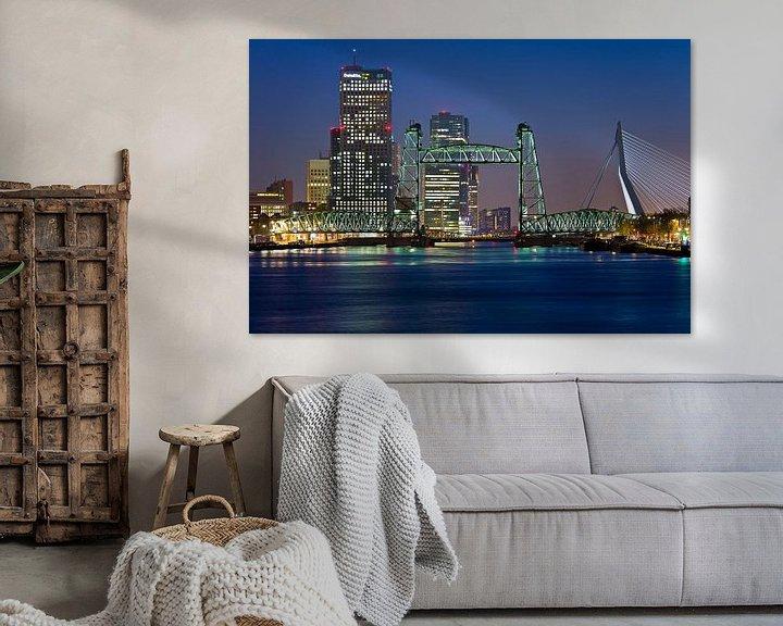 Beispiel: De Hef in Rotterdam Skyline von Anton de Zeeuw