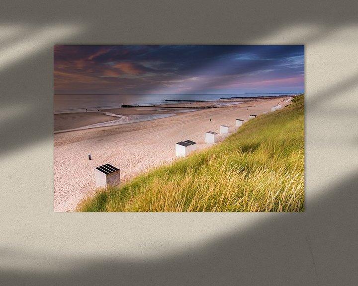 Sfeerimpressie: Domburg strand van Sander Poppe