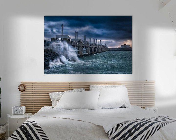 Beispiel: Storm in Neeltje Jans von Sander Poppe