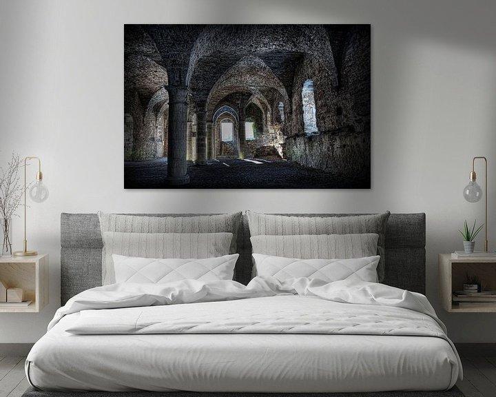 Beispiel: Ruine der Abtei von Eus Driessen