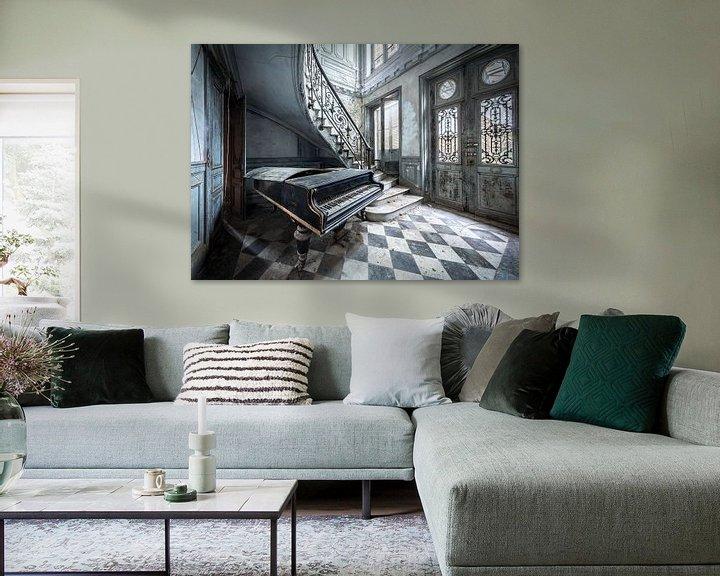 Beispiel: Mein altes Klavier von Inge van den Brande