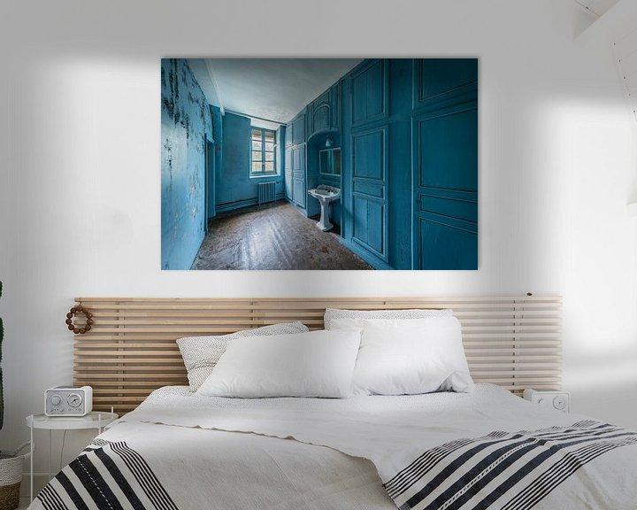 Beispiel: Blaues Badezimmer von Inge van den Brande