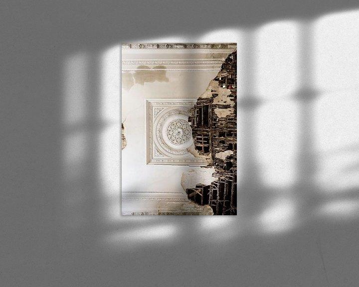 Beispiel: Schöne Decke in einem schlechten Zustand von Inge van den Brande