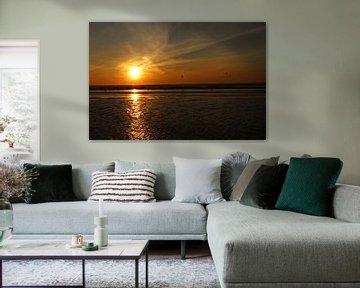 Zandvoort sunset van Veli Aydin