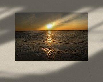 Zonsondergang zandvoort van Veli Aydin