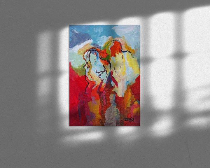 Sfeerimpressie: abstrakt figure van Deniz Paulat