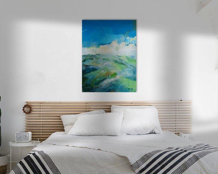 Sfeerimpressie: Abstrakte landschap van Deniz Paulat