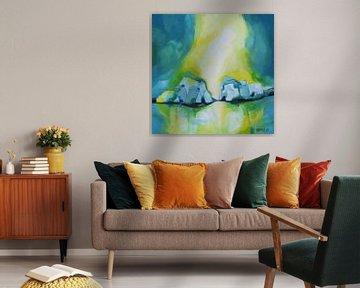 Phantasielandschap van Deniz Paulat