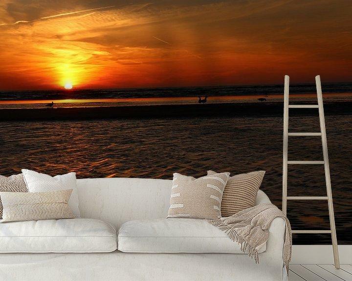 Impression: Zandvoort zonsondergang sur Veli Aydin