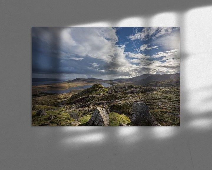 Sfeerimpressie: The Storr view on Loch Leathan van Stephan van Krimpen
