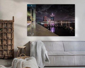 Amsterdam Skyline van Mario Calma