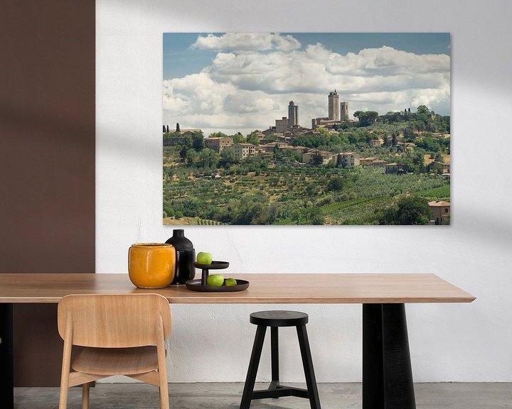 Sfeerimpressie: San Gimignano van Mike Fortgens