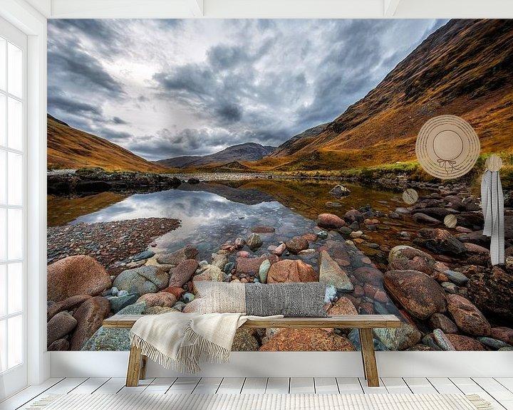 Sfeerimpressie behang: Scotland & Nature   Loch Etive van Steven Dijkshoorn