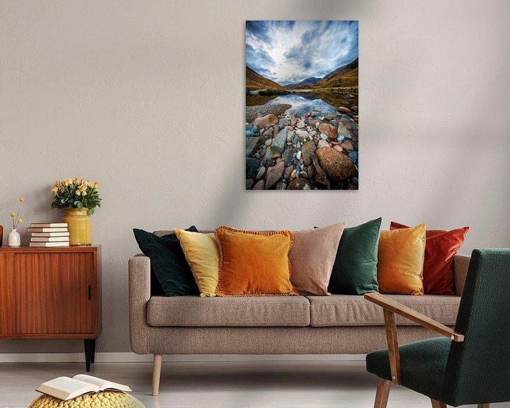 Sfeerimpressie: Near Loch Etive in Scotland van Steven Dijkshoorn