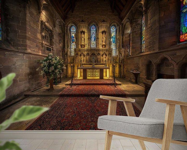 Sfeerimpressie behang: St Aidan's Church in het Verenigd Koninkrijk  van Steven Dijkshoorn