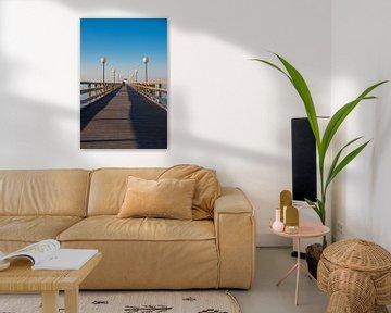 Die Seebrücke in Heiligendamm von Rico Ködder