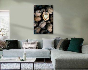 het hart van een walnoot van Marga Goudsbloem