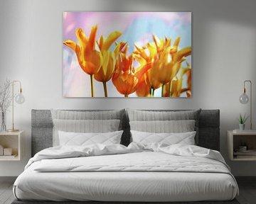 Gele tulpen von Marianna Pobedimova