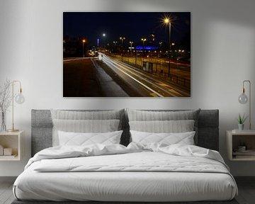 Eindhoven bij nacht van tiny brok