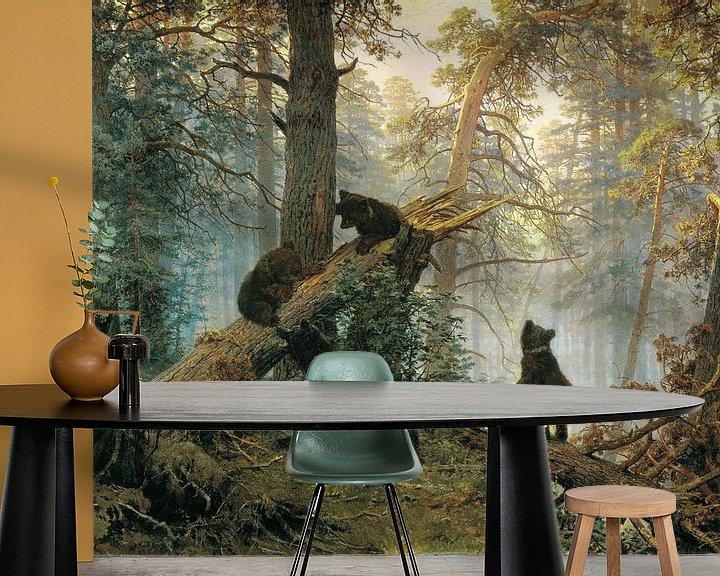 Sfeerimpressie behang: Clumsy Bear!