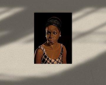 Nina Simone Schilderij 2 von Paul Meijering