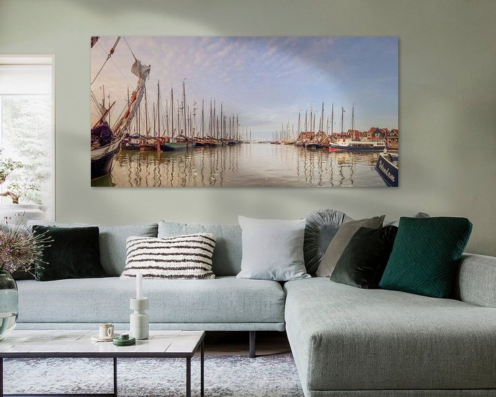 Sfeerimpressie: Panorama haven Volendam van John Leeninga