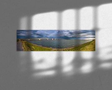 Panorama Zeelandbrug van Sander Poppe