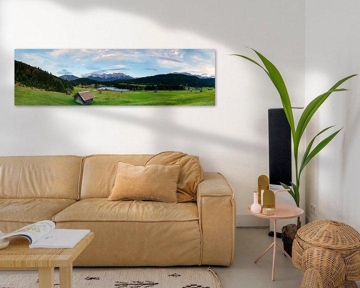 Sfeerimpressie: Panorama Geroldsee van Sander Poppe