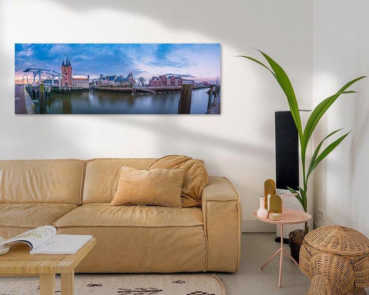Sfeerimpressie: Panorama Zierikzee van Sander Poppe