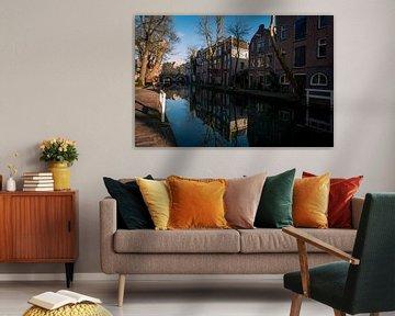 Oude gracht,Utrecht. van Robin Pics (verliefd op Utrecht)