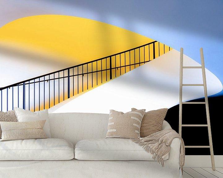Sfeerimpressie behang: Trappetje van Maerten Prins