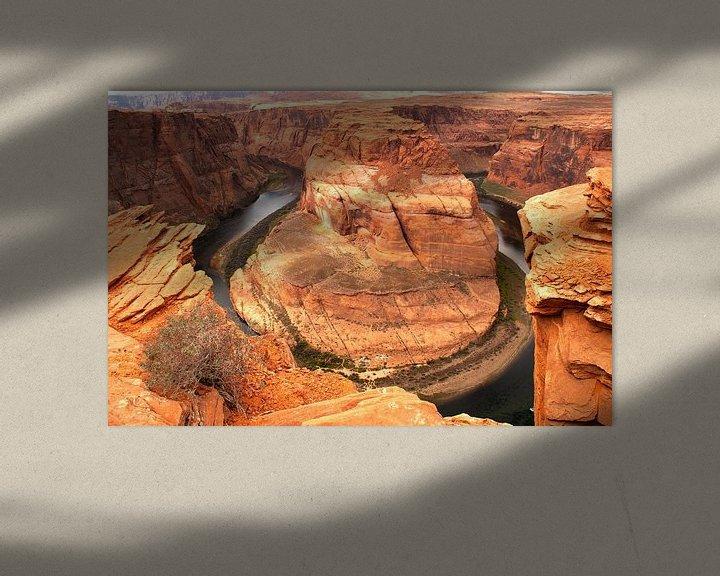 Beispiel: Horseshoe Bend, Arizona von Tineke Visscher