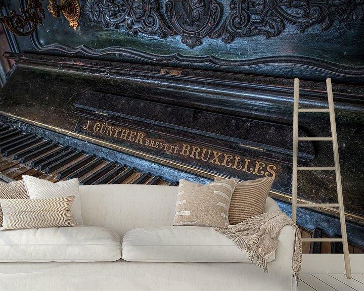 Beispiel fototapete: Piano von Gerben van Buiten