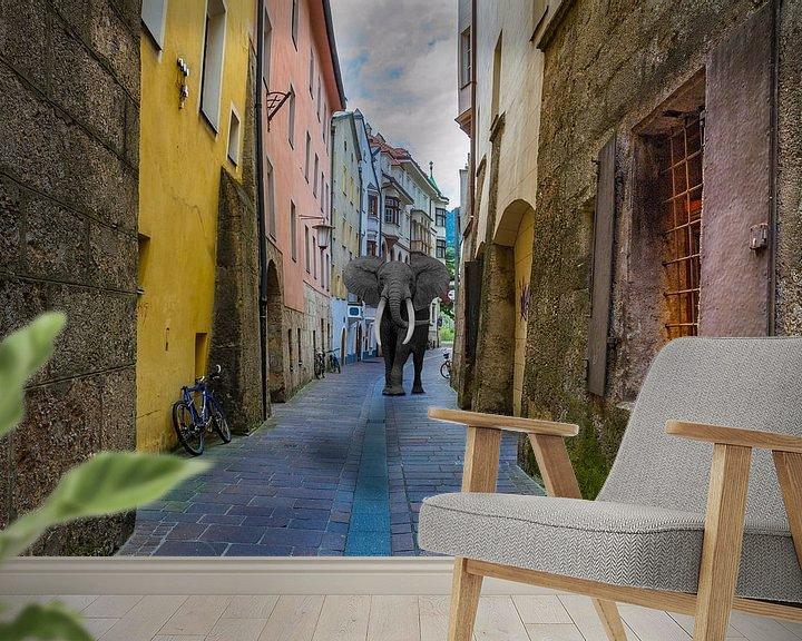 Beispiel fototapete: Stadtspaziergang von Ursula Di Chito