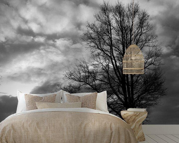 Sfeerimpressie behang: Zitten bij de boom van Martzen Fotografie