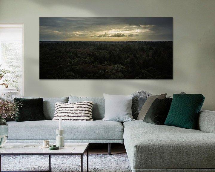 Sfeerimpressie: Uitzicht over het bos van Martzen Fotografie