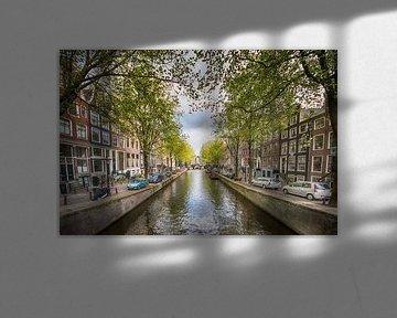 Leidsegracht Amsterdam van Foto Amsterdam / Peter Bartelings