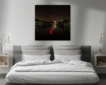 Skyline Leeuwarden von Martzen Fotografie