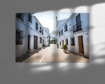 straatje in het spaanse dorp uheros