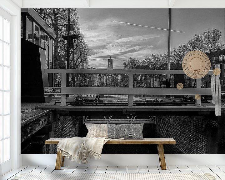 Sfeerimpressie behang: Weerdsluis van Robin Pics (verliefd op Utrecht)