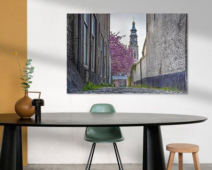 Sfeerimpressie: April in Middelburg van Frans Blok