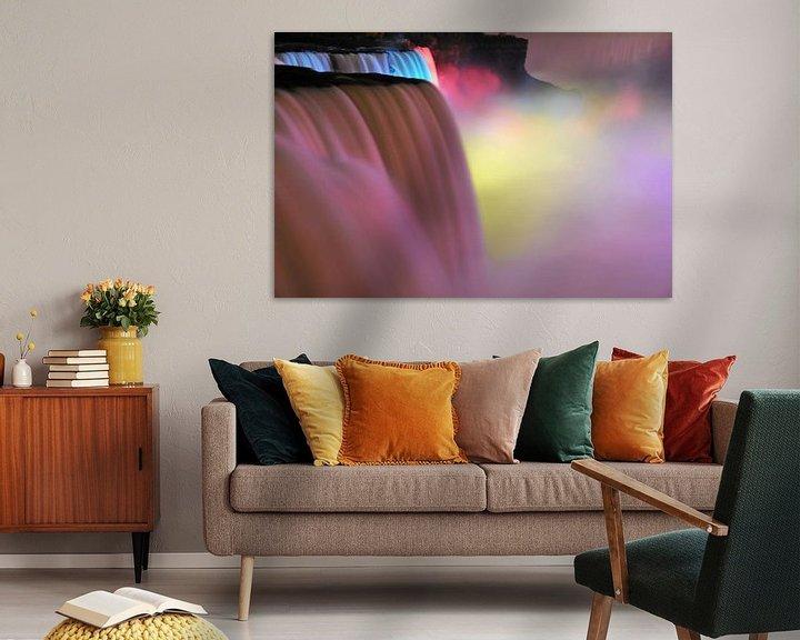 Sfeerimpressie: Zuurstok Waterval van Paul van Baardwijk