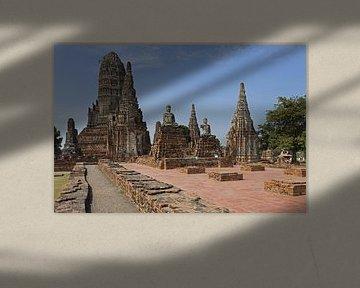 Wat Chai Watthanaram in Ayutthaya von Antwan Janssen