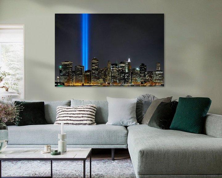 Beispiel: 9-11 Skyline von Paul van Baardwijk