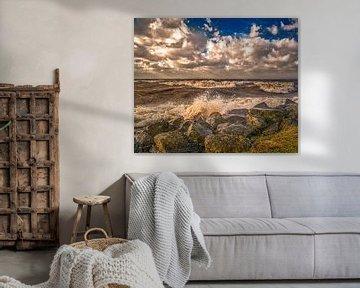 Storm bij Urk van Robin Pics (verliefd op Utrecht)
