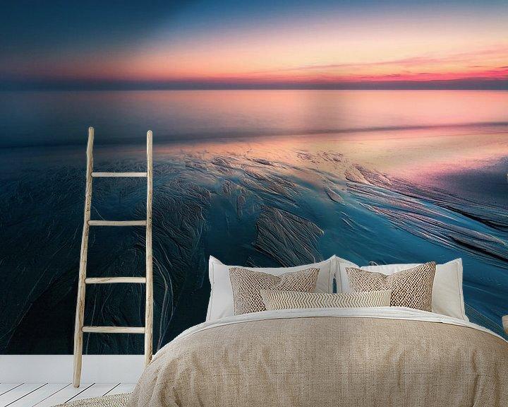 Sfeerimpressie behang: Peaceful Solitude van Dion van den Boom