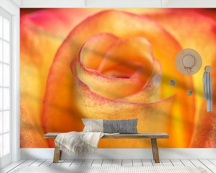 Sfeerimpressie behang: De kern van Tashina van Zwam